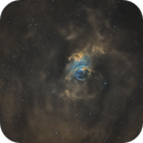 NGC 7635 in SHO palette,                                  pete_xl