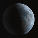 Moon Earthshine,                                Astron.KN