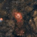 Lagoon and Trifid Nebulae (M08 and M20),                                Abdullah Bukhamsin