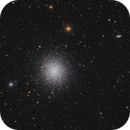 M13 and tens of galaxies from class 6 area,                                Guillermo Gonzalez