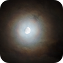 Moon halo from norway,                                kenthelleland