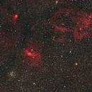 The Bubble Nebula and M52,                                riot1013