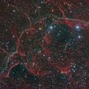 Vela Supernova Remnant (H Alpha +RGB),                                Diego Cartes
