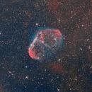 NGC6888 (crescent nebula) HOO,                                wowa