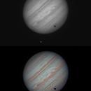Jupiter with Callisto Transit,                                spacecapone