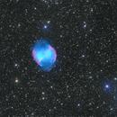 M27 - Dumbbell Nebula,                                Elvie1