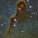 IC1396 Elephant Trunk - Astropotes E-eyes,                                Benjamin Bravard