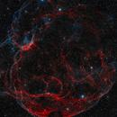 Sh2-240 / Simeis 147, The Spaghetti Nebula in Taurus - HOO RGB,                                Daniel.P