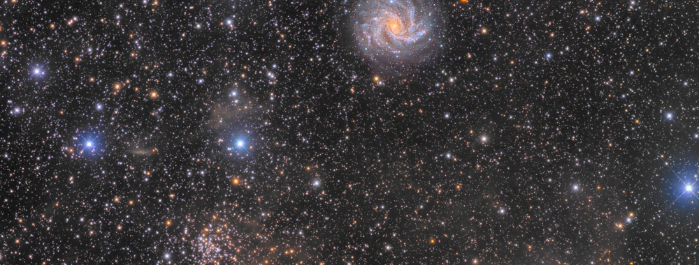 NGC 6946 + SN 2017eaw,                                Giovanni Paglioli