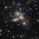 NGC 7320 - Stephan's Quintet - remastered,                                Lorenzo Siciliano