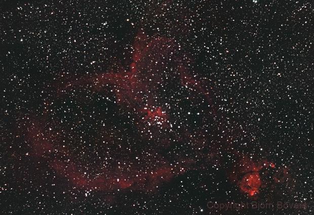 The Heart Nebula,                                Björn Bövers