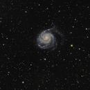 Messier 101 - The Pinwheel Galaxy,                                Jan Simons