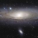 Andromeda Galaxy Mosaic,                                Dan Watt