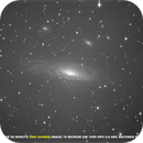 30 MINUTE 10 MICRON GM 1000 HPS OAG GUIDED IMAGE OF NGC 7331 (UNCALIBRATED SUB),                                Hobby Astronomer