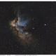 NGC 7380  Wizard Nebula SHO,                                Luc Jaspers