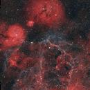 Gum Nebula and Vela Supernova Remnants,                                Yung Hsu Shih