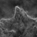 Vela - mosaic - Starless Ha+SII,                                Philippe BERNHARD