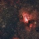 Messier 17,                                leeasle