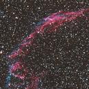 Eastern Veil Nebula (Velo del cisne Parte Este),                                eldoctorbacterio