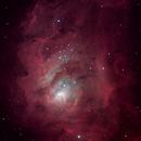 Lagoon Nebula M8,                                Sushen Desai