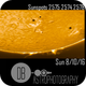 Sun 8/10/16 Sunspots 2574, 2575, 2576 (poor visibility) ,                                Donnie B.