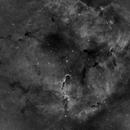 IC 1396, DSLR, Ha in full glow of the Moon,                                Lensman57