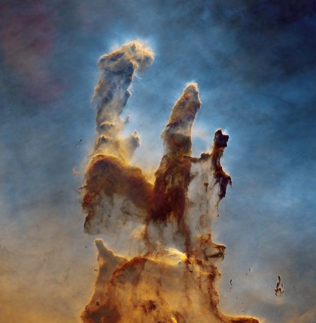 The Pillars of Creation, M16, the Eagle Nebula,                                Wissam Ayoub