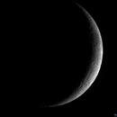 Waxing Crescent Moon 5 Dec 2013,                                Peter Ilas