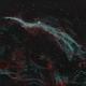 NGC 6960 Ha+OIII bicolour,                                Paul Muskee