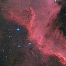 NGC 7000 T150 f/5  /  ATIK ONE  /  AZEQ6,  LRGB and LHa-RHaGB,                                Pulsar59