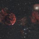 IC443 and IC444 - Gemini,                                Emmanuel Fontaine
