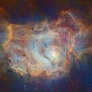 M8 - The Lagoon Nebula - Hubble Palette,                                Eric Coles (coles44)