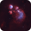 From the North: Cat's Paw Nebula Wide-Field,                                Min Xie