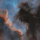 NGC 7000 & IC 5070 Three Panel Panorama,                                Mike Oates