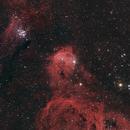 Gabriela Mistral Nebula (Gem Cluster/NGC3293 & NGC3324),                                KiwiAstro