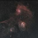 Flaming Star Nebula, IC 405,                                Alfred Leitgeb