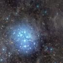 M45 Pleiades Widefield,                                Jeff Coldrey