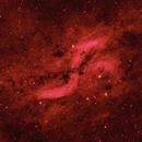 Cyg Impression - The Propeller Nebula [Simeis 157] - A False Color Experiment,                                G400