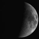 La Lune le 31 Mars 2020 - C11 + HyperStar + Asi 183mm-c,                                Alain-Bouchez