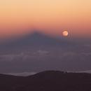 Moonrise over the Teide Observatory,                                dr_klahn