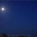 Moon - Saturn - Jupiter, Canon EOS 6D Mk2, 20200707,                                Geert Vandenbulcke