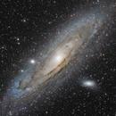 M31 - La galaxie d'Andromède,                                ZlochTeamAstro
