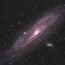 Messier 31,                                James Schrader