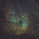IC410 Ha-SII/Ha/OIII,                                Emilio Zandarin