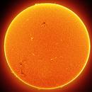 Sun shield in H-alpha,                                Łukasz Sujka