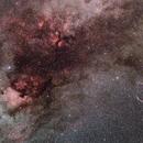NGC 7000,                                Sushiraptor