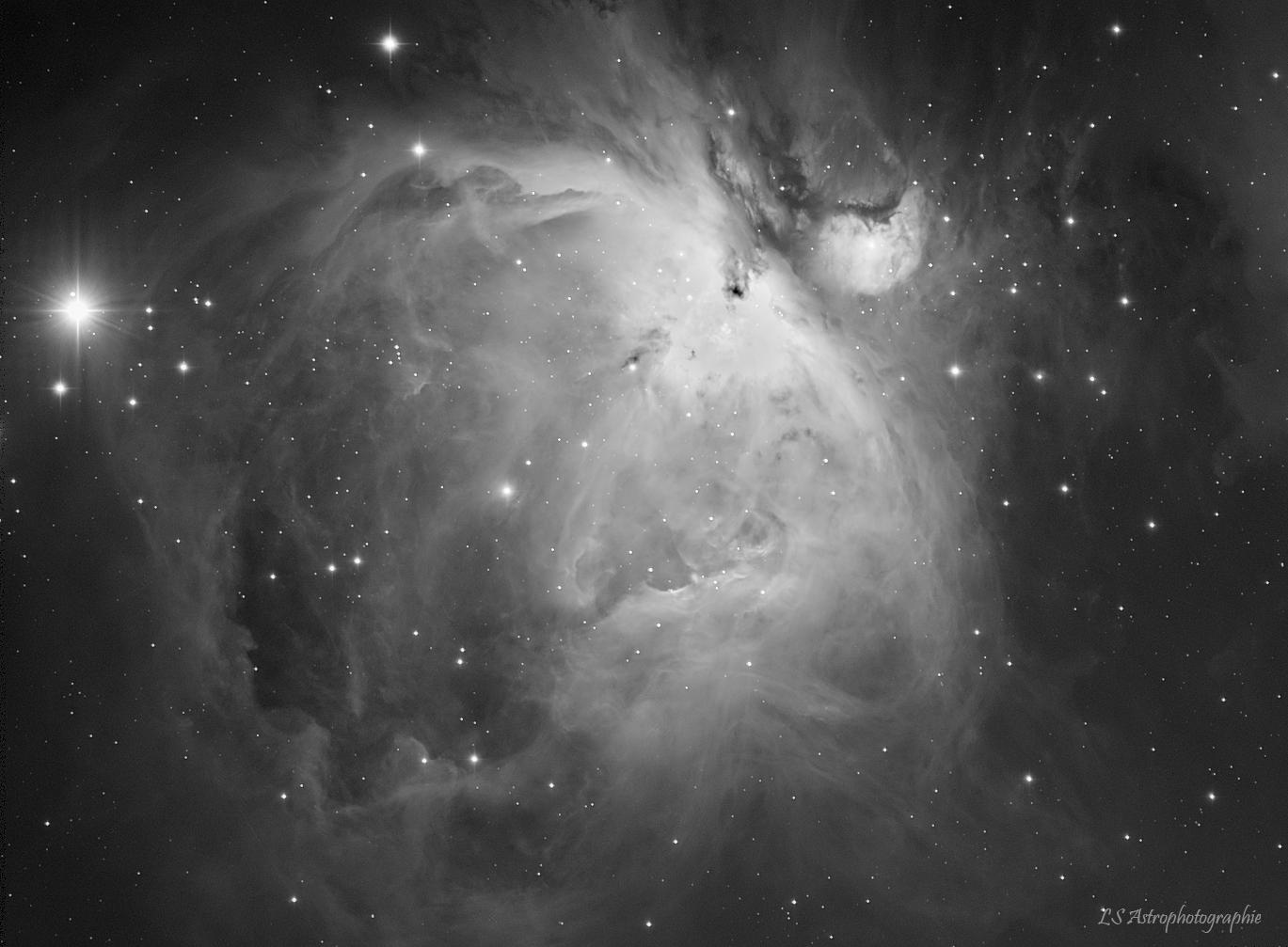 M42 - Nébuleuse d'Orion,                                Ludovic