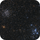 Open Clusters M46, M47, NGC 2423 and PN NGC2438,                                Michael Feigenbaum