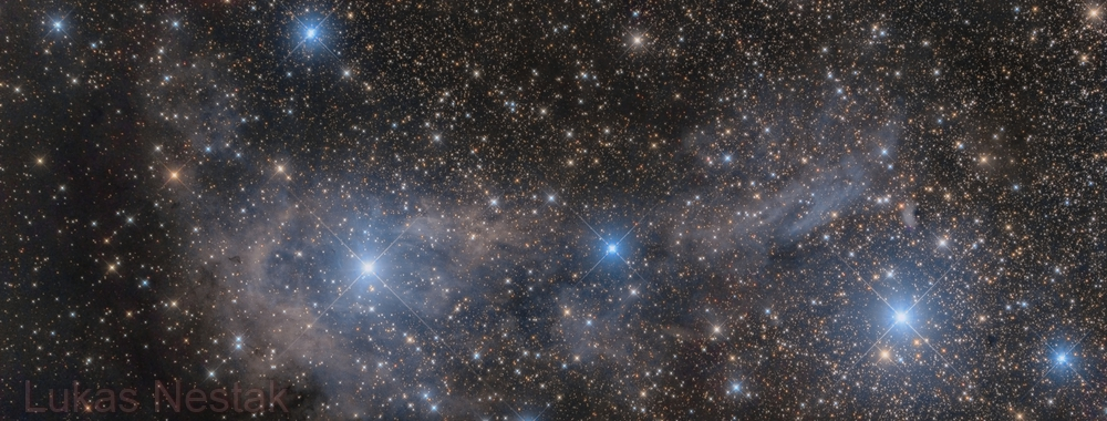 VdB 14, VdB15 reflective nebula in Giraffe,                                LukasN