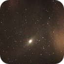 Andomede Galaxy (M31) and M32 with clouds,                                Dylan Woodbrey